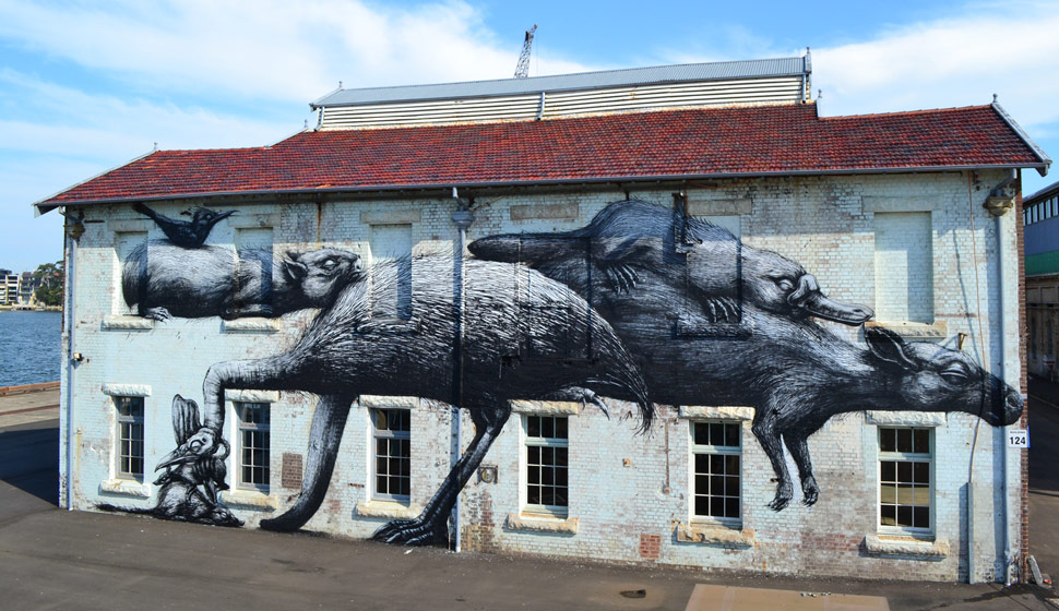 roa | cockatoo-island | australia