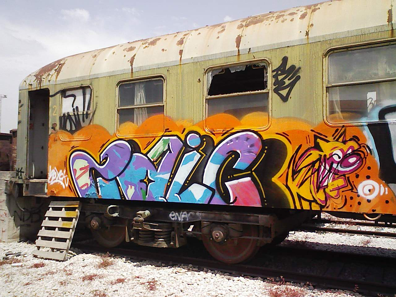 zaik | trashtrain | barcelona
