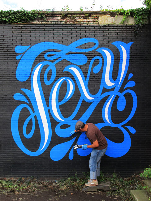 sexy | blue | process | hasselt | belgium