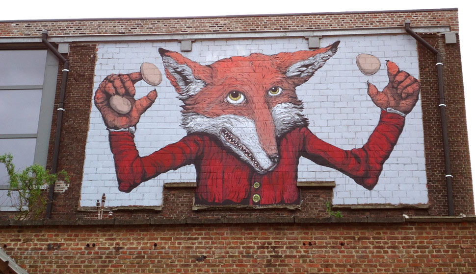 ericailcane | gent | fox | belgium