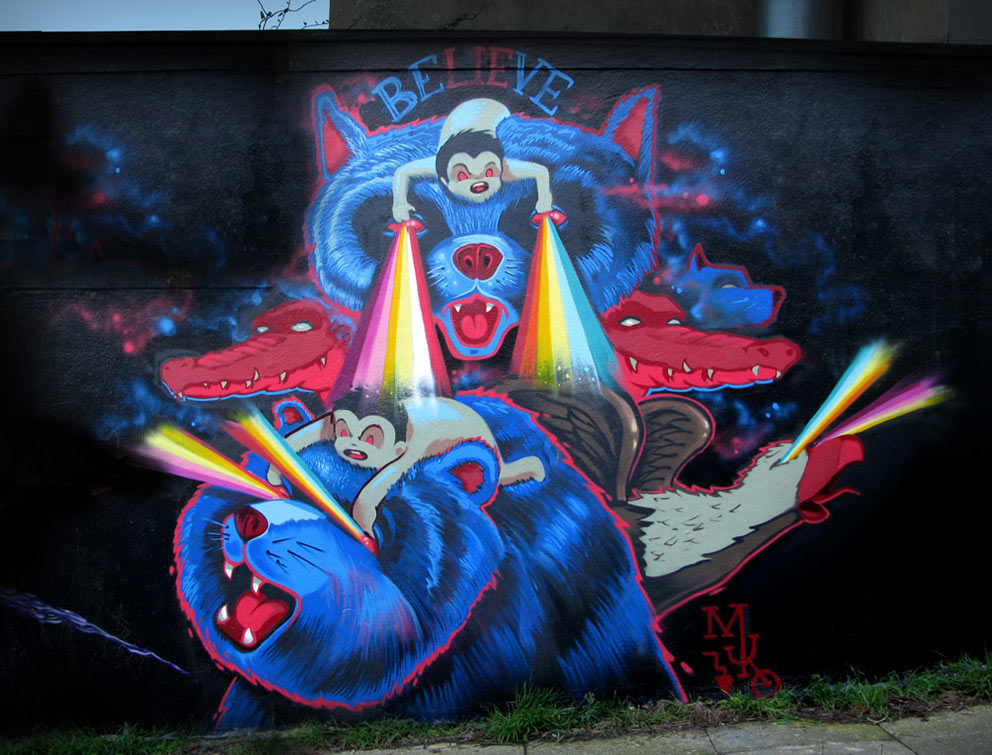 muro | rainbow | sanfrancisco | california | winter12