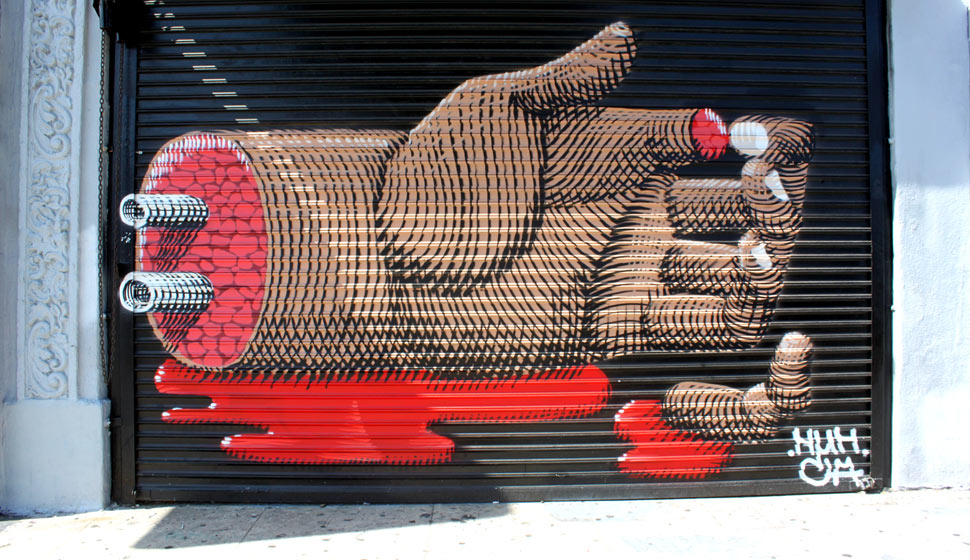 nunca | hand | shutters | losangeles | california