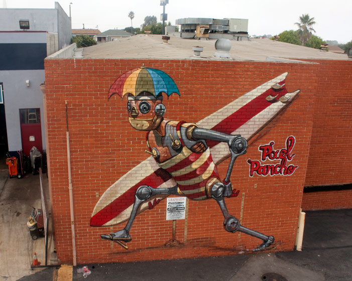 pixelpancho | robot | losangeles | california