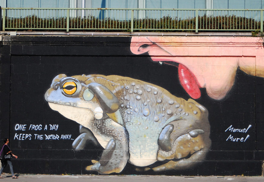 manuel-murel | frog | big | wien | austria | europe