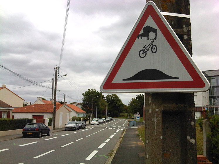 jinks | roadsign | france