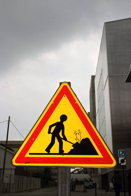 jinks | roadsign | nantes | france