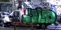yelo | green | truck | lyon | france (13 votes)