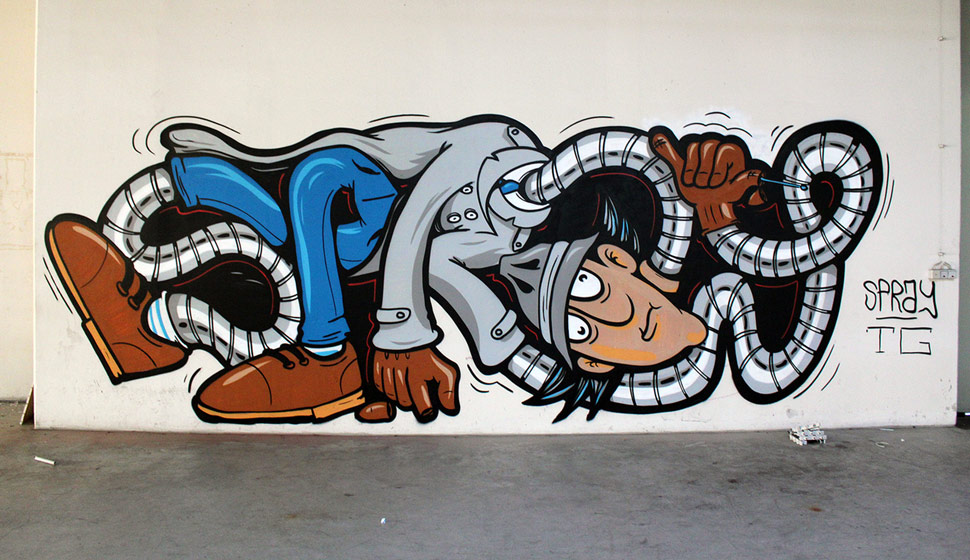 Inspector Gadget by SPRAY