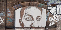 vhils | portrait | berlin | germany (33 votes)