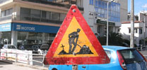 absent | roadsign | athens | greece (25 votes)