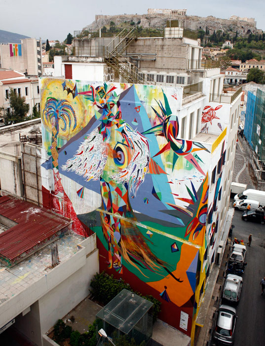 woozy | big | athens | greece