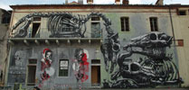 roa | robotinc2501 | orticanoodles | bassano-del-grappa | italy (30 votes)