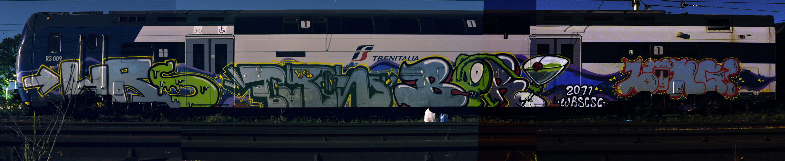 wrs | kaio | buono | bery | bong | train | night | italy