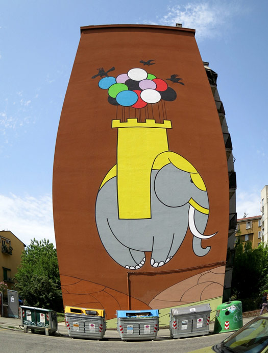 honet | bologna | big | elephant | italy