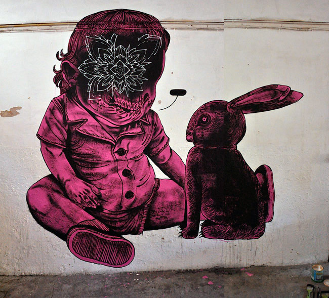 jameskalinda | rabbit | pink | italy