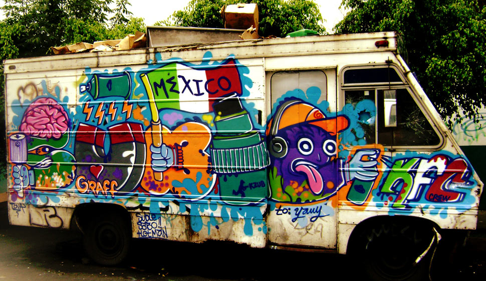 suble | kfc | truck | mexico