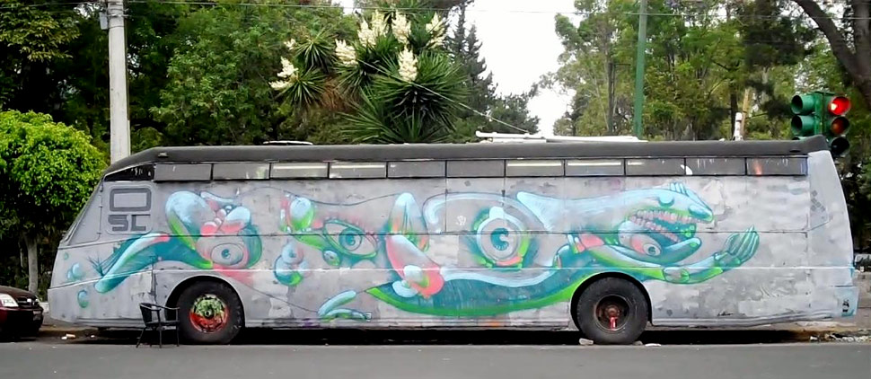 uneone | bus | mexico
