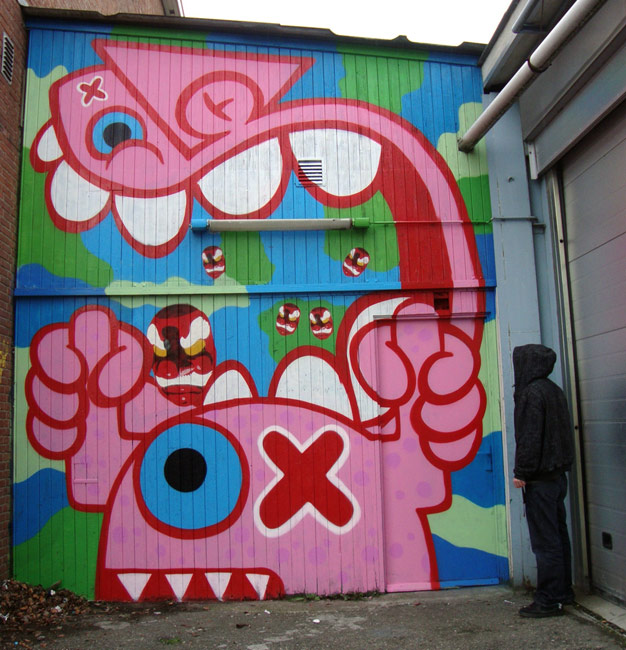 kbtr | ox-alien | pink | hague | netherlands