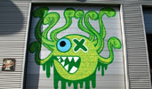 ox-alien | pinwin | green | octopus | rotterdam | netherlands (20 votes)