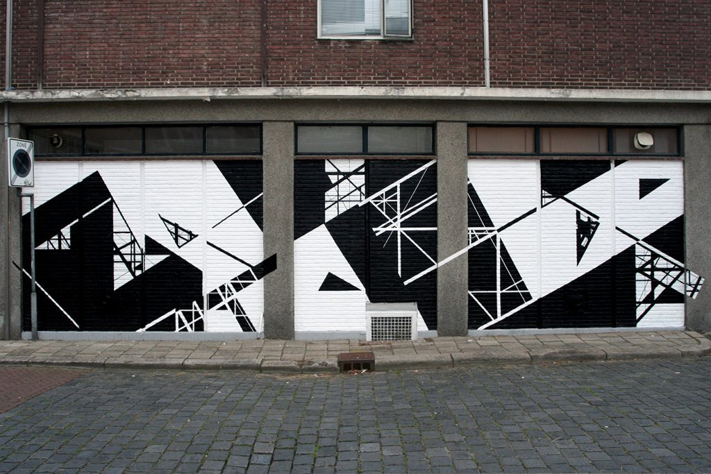 graphic-surgery | geometry | black | white | netherlands