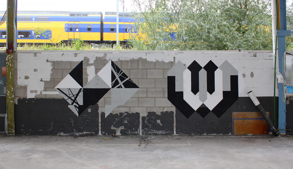 graphic-surgery | wood | geometry | grey | utrecht | netherlands