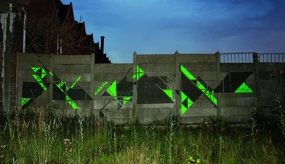 graphic-surgery | night | fluo | green | amsterdam | netherlands | fall10