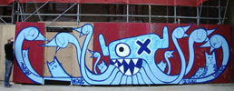 pinwin | ox-alien | blue | octopus | rotterdam | netherlands (29 votes)