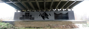 zime | graphic-surgery | unknown | black | bridge | amsterdam | netherlands (68 votes)