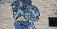 broken-lion | lion | blue | austin | texas | usa | north-america (31 votes)