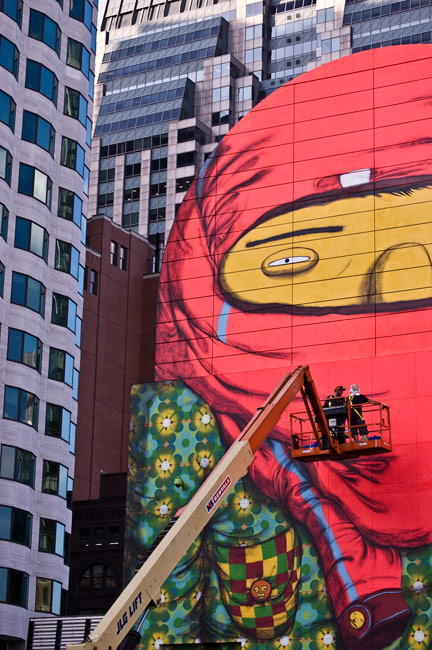 osgemeos | process | big | boston | usa | north-america