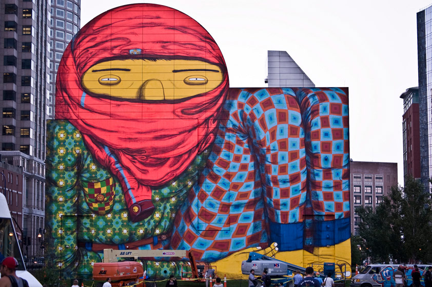 osgemeos | big | boston | usa | north-america | summer12