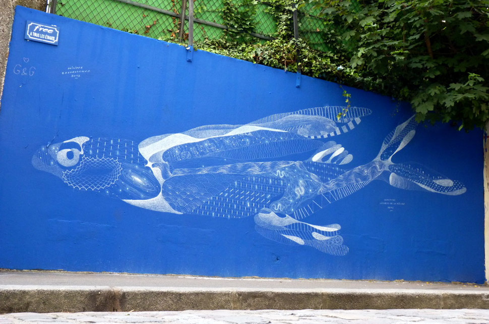 philippe-baudelocque | blue | fish | paris