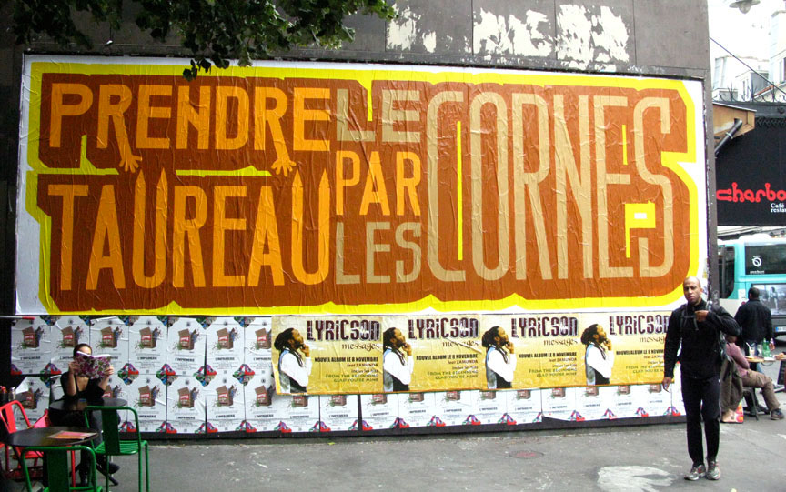 above | text-message | billboard | lemur | paris