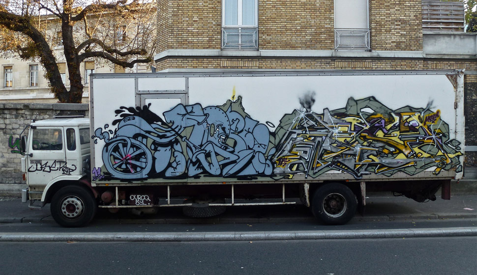 horfe | mosa | truck | paris | fall11