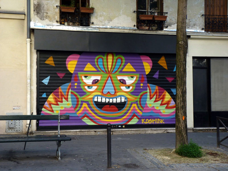 kashink | shutters | paris