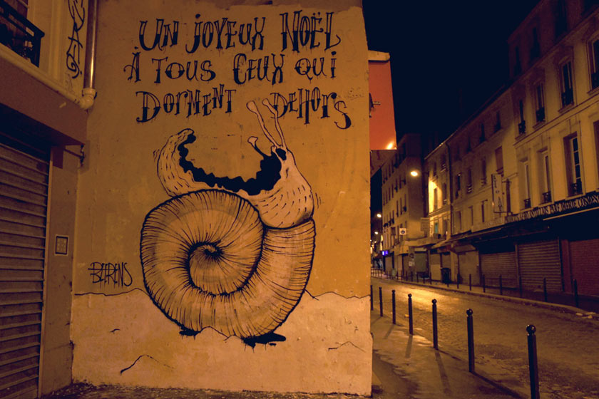 michael-beerens | snail | night | paris