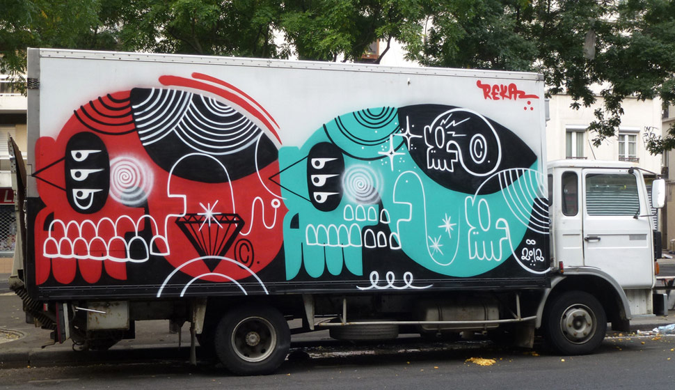 reka | truck | paris | summer12