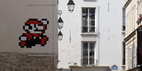 spaceinvader | pixel | paris (26 votes)