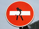 clet-abraham | red | roadsign | paris (20 votes)