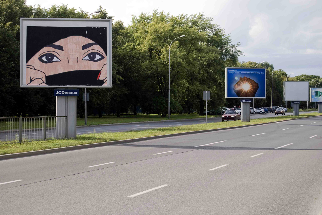 br1 | billboard | warsaw | poland
