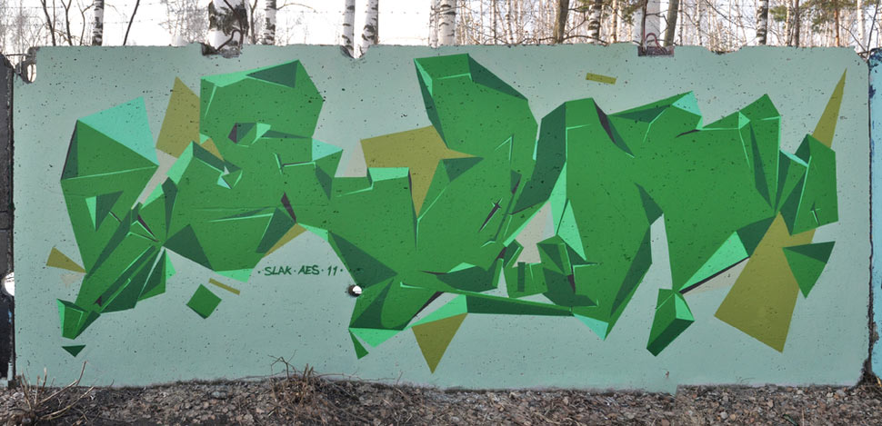slak | green | russia