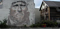 vhils | portrait | norway | big | scandinavia (49 votes)