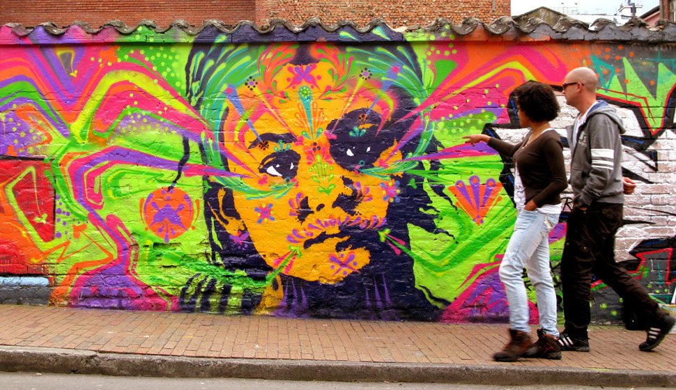 stinkfish | portrait | fluo | bogota | colombia | south-america