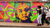 stinkfish | portrait | fluo | bogota | colombia | south-america (7 votes)