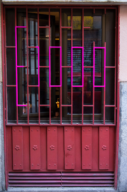 e1000ink | pink | madrid | spain