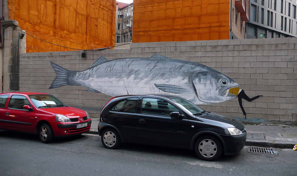 escif | fish | bilbao | spain