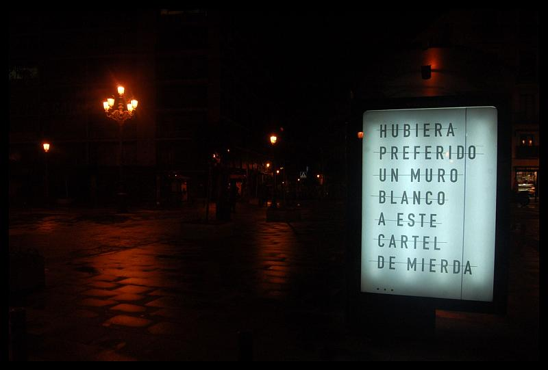 rero | text-message | night | madrid | spain