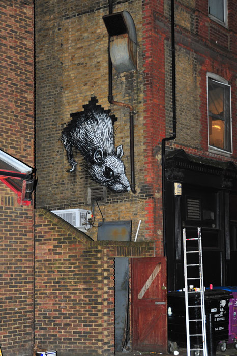 roa | rat | london | ukingdom
