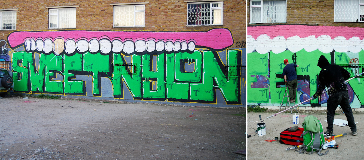 sweettoof | nylon | process | london | green | ukingdom