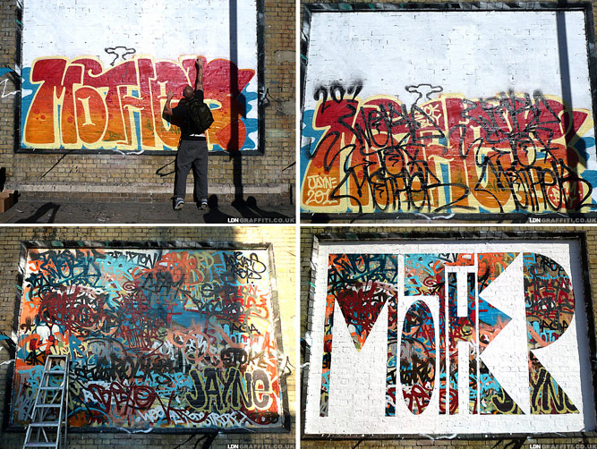 word-to-mother | process | billboard | london | ukingdom